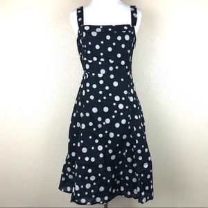 GAP black and white dress